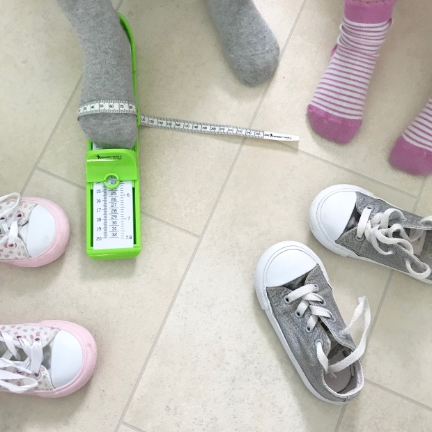 Foot measuring